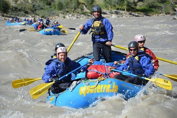 River Rafting in Ladakh on the Zanskar River