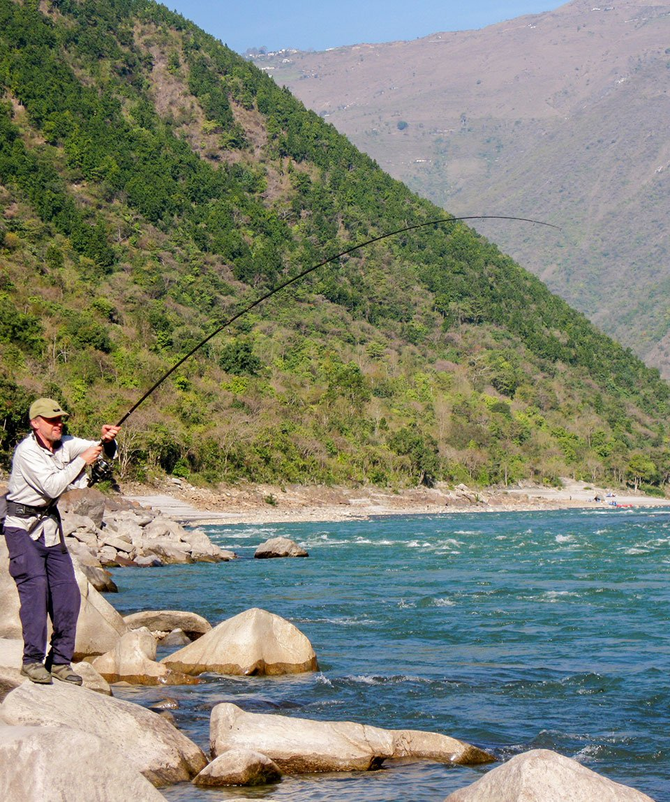 Angling Expeditions in Uttarakhand with Aquaterra